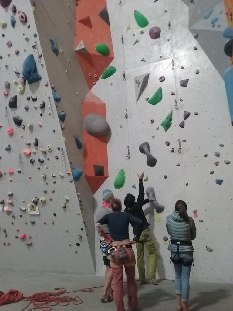 escalade grenoble espace vertical